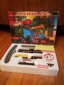 Vinatge Marklin HO 3203 Train Set brand new in original box