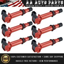 Set of 6 Energy Ignition Coil For Dodge RAM 1500 Jeep Liberty Commander UF270