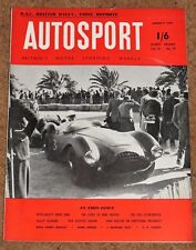 Autosport 11/3/55 - RAC RALLY - SESTRIERE RALLY - REVIEW of SCOTTISH MOTORSPORT