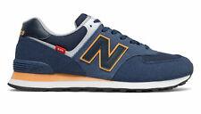 New Balance Sneaker Natural Indigo With Habanero Uomo
