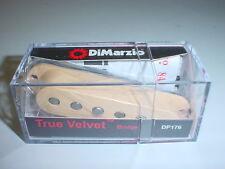 DiMarzio DP176 True Velvet Bridge Single Coil Electric Guitar Pickup CREAM