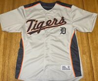 Detroit Tigers Jersey - Dynasty MLB Merchandise  - Men's M (38-40) - Gray
