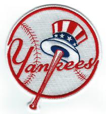"⚾ NEW! 4"" NEW YORK YANKEES Logo Iron-on Baseball Jersey PATCH!"