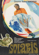 Solaris Andrei Tarkovsky cult sci fi movie poster print