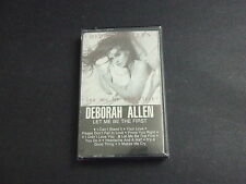Deborah Allen Let Me Be The First 10 Track Cassette Tape RCA 1984 Sealed New