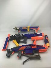 nerf gun lot 3 blasters, Scope, Light, And Mount