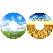 Guided Meditation Loving Kindness & To Help Reach Your Full Potential 2 CDs Heal