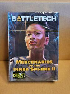 Battletech Catalyst Kickstarter Pilot Cards Mercenaries of the Inner Sphere II
