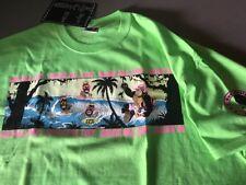 80's T&C Surf Designs T-shirt Men's  X Large  NEON GREEN