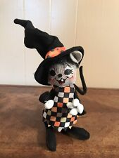 Annalee Halloween Witch Mouse Figure Doll