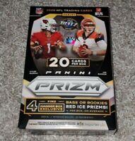2020 PANINI PRIZM NFL FOOTBALL HANGER BOX BURROW TUA HERBERT RC WALMART 20 CARDS