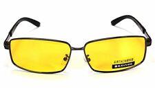 PolarizedUV400Sunglasses Night Vision Driving Eyewear Shade Glasses,yellow lens
