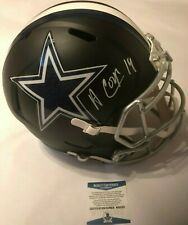 5a949e8c92f Amari Cooper Autographed Full Size Dallas Cowboys Black Speed Helmet  Beckett COA