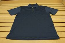 New Page & Tuttle Golf Solid Polo Mens Size Small Navy 101A  Shirt Clothing