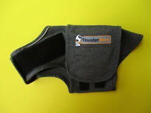 Dog's THUNDER SHIRT  Size XS  Grey  Machine Wash