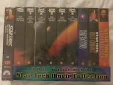 The Ultimate Star Trek Movie Collection Vhs Tapes
