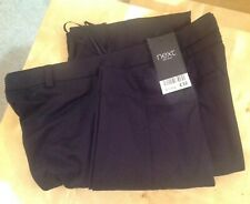 Ladies Next Trousers Size 8 Long Black NEW RRP £32 NEXT TROUSERS UK 8 REGULAR