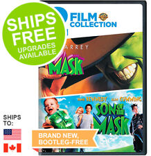 Mask / Son of the Mask Double Feature (DVD, 2008) NEW, Jim Carrey, Cameron Diaz