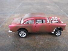 Hot Wheels 55 Chevy Bel Air Gasser RA Custom Rusty Super  Custom