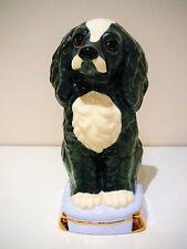 Vintage King Charles Spaniel Figurine Statue Ceramic Ornament Dog Animal