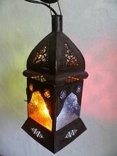lanterne Marocaine lustre bougeoir photophore décoration Marocaine lampe bougie