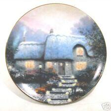 """1991Thomas Kinkade """"Candlelit Cottage"""" Third Issue"""