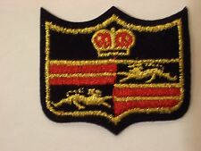 Lion Crest w/Crown Embroidery Applique Patch Emblem Lot (24 Dozen)