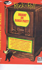 ROCKIN' ON RANCH PARTY - ROCKABILLY DVD - CARL PERKINS, JOHNNY CASH etc etc