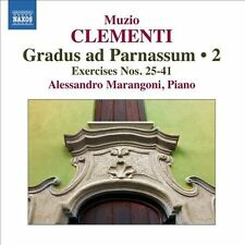 NEW - Gradus Ad Parnassum / Exercises 25-41: 2 by CLEMENTI,MUZIO