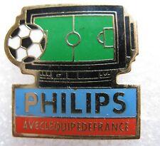 Pin's PHILIPS avec l'equipe de France TV Football AB #1434