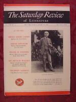 Saturday Review January 25 1936 RUDYARD KIPLING +++