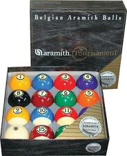 Aramith Tournament Duramith Pool Ball Set Belgian Balls Set Pool Billiards