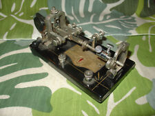 1926 Vibroplex Original No. 1 Bug 796 Fulton St NY SN 99432 Black Cast Base
