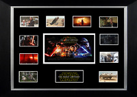 STAR WARS THE FORCE AWAKENS MOVIE MOUNTED PRINT