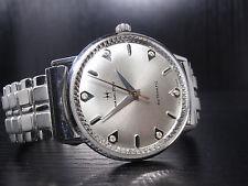 1964 Hamilton Lord Lancaster H -10KGF +diamond dial- SERVICED vintage mens watch