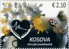 Kosovo Stamps 2021. Doctors: White coat heroes. Pandemic care. Set MNH