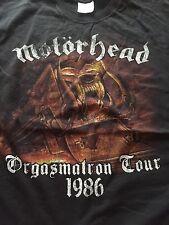 Motörhead- Orgasmatron Tour 1986 T-Shirt Size XL