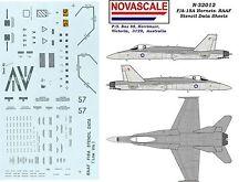 RAAF F/A-18 Hornet Stencils Decals 1/32 Scale N32012