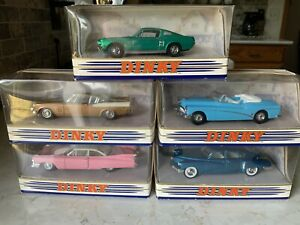 Matchbox Dinky & Models Of Yesteryear Mixed Lot of (5)Cars Complete With Boxes