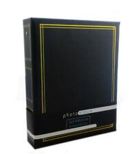 Self Adhesive Ring Binder Photo Album 40 sheets 80 Sides in Black