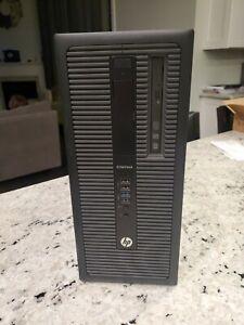 HP EliteDesk 800 G1 TWR Intel Core i7  4GB RAM 500GB HDD