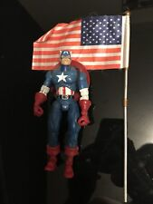 Capitán América de Marvel Legends Steve Rogers Action Figure Loose Hasbro 2002