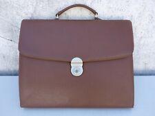 alte Tasche Aktentasche Bürotasche Schultasche Bodenschatz, braun, gebraucht