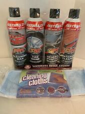 Rgs Labs Waterless Detail System Wax, Tire Shine, Interior Cleaner with 3 Cloths