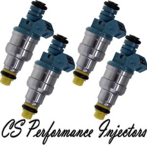 OEM Bosch Fuel Injectors Set (4) 0280150902 for 87-93 Volkswagen Jetta Golf 1.4