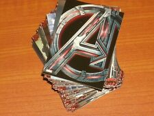 THE AVENGERS 'AGE OF ULTRON' Complete Base Set of 90 Movie Trading Cards Marvel