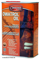 Owatrol Öl Oil Rostschutz Kriechöl Holzschutz Versiegelung - 5 L Originaldose !
