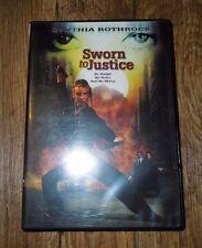 Sworn to Justice (DVD, 2001) CYNTHIA ROTHROCK