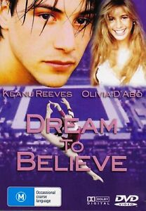 Dream to believe DVD Sports Drama Gymnatics_KEANU REEVES 1986 FILM_OLIVIA D'ABO