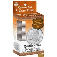 New Whitman Five Canada and US Pennies Tubes Including Case